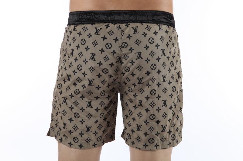 e615a2a7bcec 2013 louis vuitton pantalon de plage abordable hommes shorts lv france  black abricot,